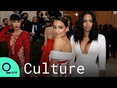 The Met Gala is full of rich people. Alexandria Ocasio-Cortez wore a ...