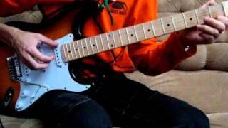Генералы песчаных карьеров гитара - перебор, табы