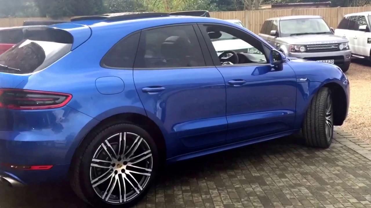 Porsche Macan D S Pdk Sport Design Kit For Sale In Sapphire Blue