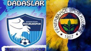 BB Erzurumspor Fenerbahçe Maç Özeti , Fifa 21 Maç Simülasyonu