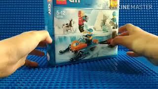 Обзор на набор LEGO CiTY Арктика 60191.