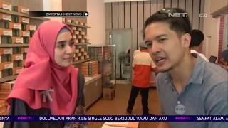 Dhini Aminarti dan Dimas Seto Membuka Bisnis Kue