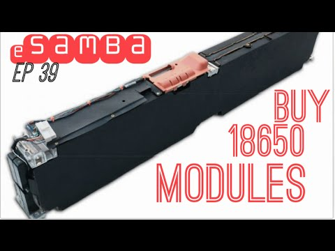 18650 modules now on sale! ep39 Electric Car