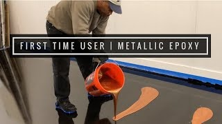 Epoxy Resin with Metallics First Time Installer | Order your Epoxy Kit Today