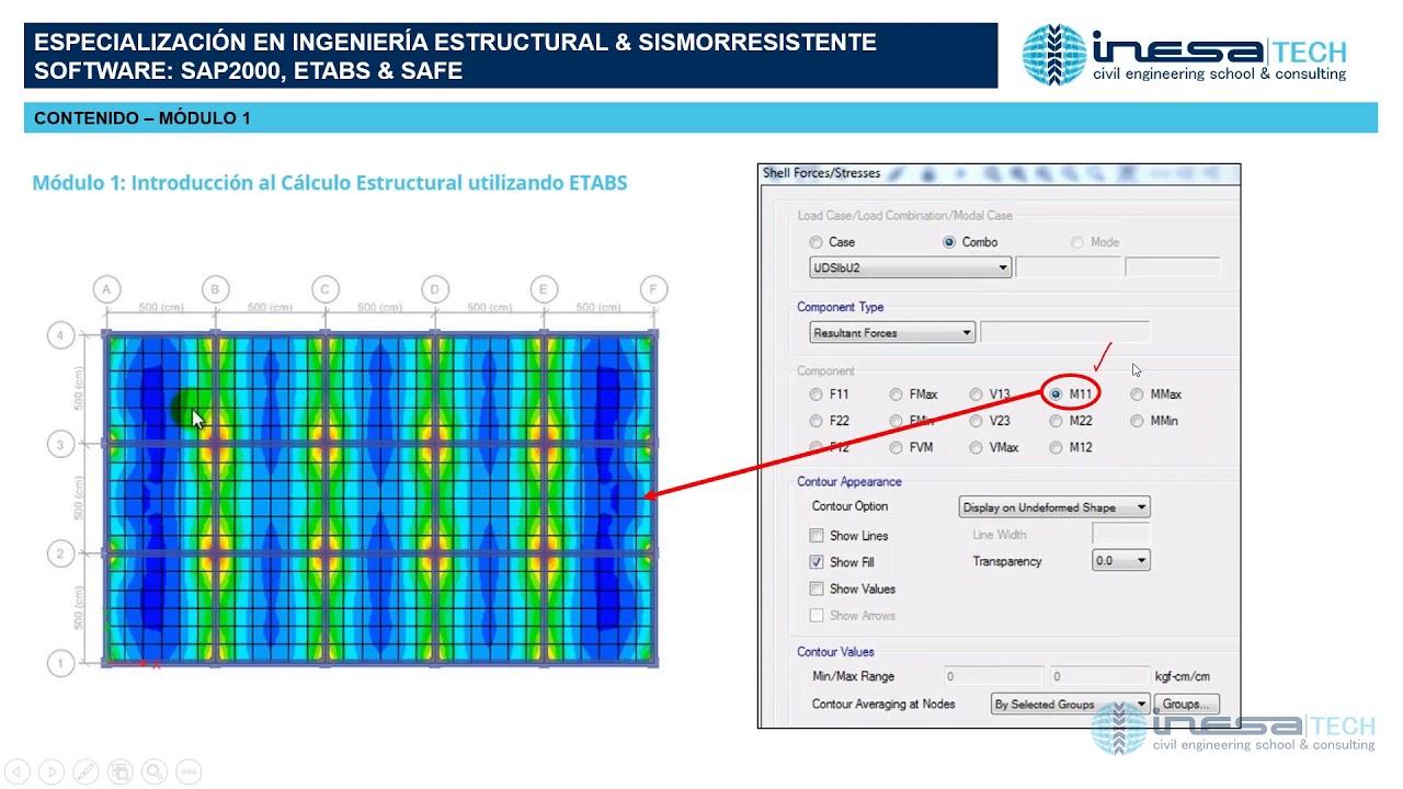 Presentación de la Especialización en Ingeniería Estructural