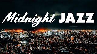 Winter Midmight - Smooth Piano & Sax JAZZ - Romantic Music