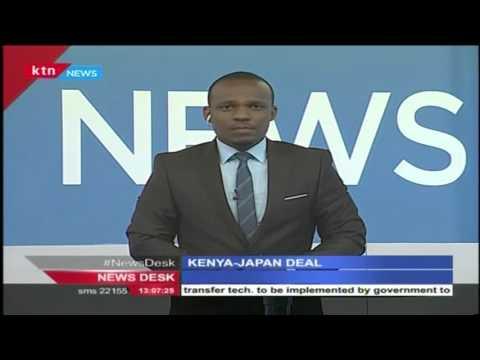Signed Kenya Japan Agreement to increase energy production