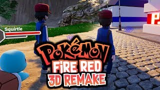 connectYoutube - Pokemon Fire Red in 3D - New Demo Gameplay! (Fire Red Remake in 3D)