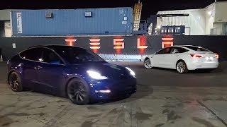 First Tesla Model Y Test Ride in 4k!