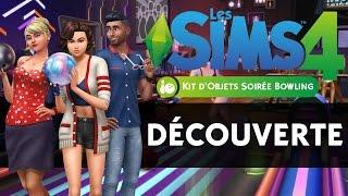 Les Sims 4 Soirée Bowling | Découverte et avis ! [Kit d'objets]