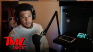 Devin Booker Reveals COVID Battle On Live Stream, 'No Taste, No Smell' | TMZ TV