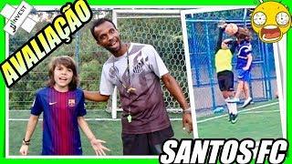 AVALIAÇÃO DE FUTEBOL NO SANTOS FC : Campo Society