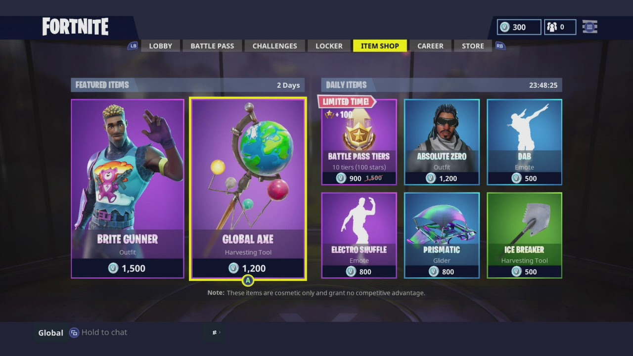 THE BRITE GUNNER AND THE BRITE BAG IS FINALLY HERE! - Item Shop 29/04/2018 SHOWCASE