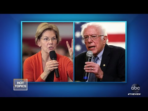 Bernie Sanders Said a Woman Can't Win Say Sources, Part 1 | The View