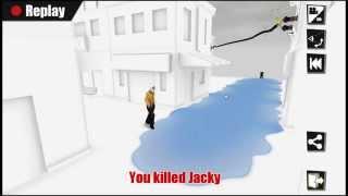 Kill the bad guy - 100% walkthrough - lvl 16 - 20 Golden Star