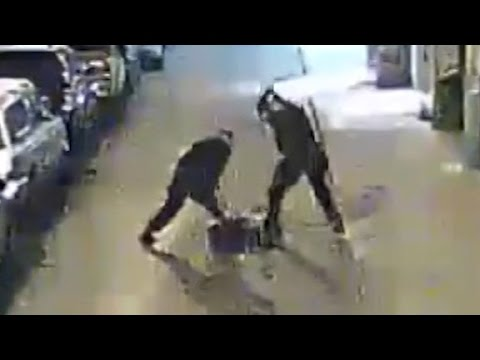 Police beating caught on camera