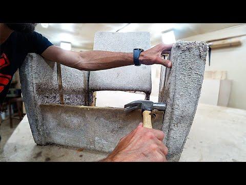 Ремонт мебели своими руками | Реставрация кресла