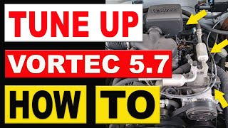 How To Replace Spark Plugs, Wires, Cap and Rotor 1996-1998 Chevy GMC Truck 5.7 Vortec Tune Up