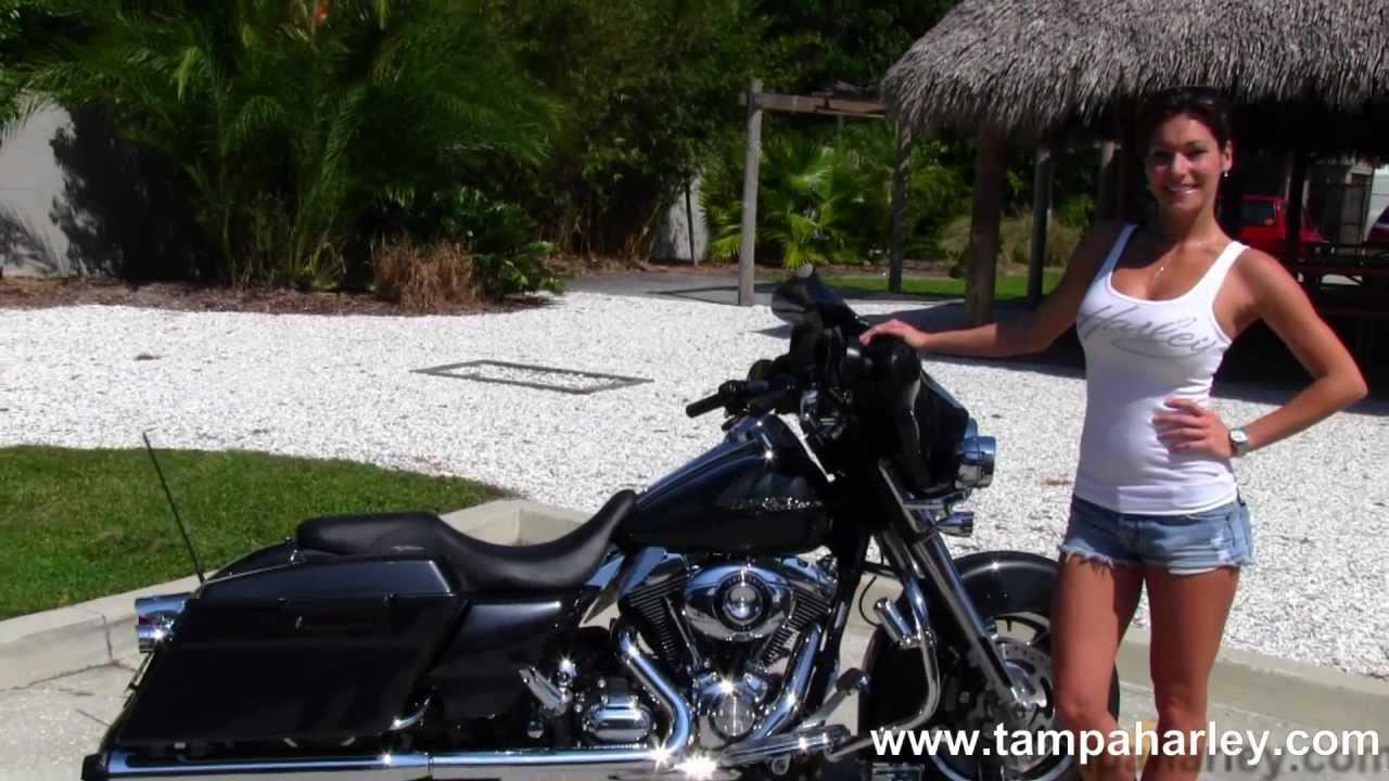 2009 Harley Davidson Street Glide for Sale Motorcycles - YouTube