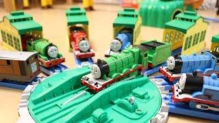 トーマスプラレール トーマスの主な仲間たちがそろったよ Thomas Model Trains thumbnail