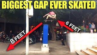 The Biggest Gap I've Ever Skated!
