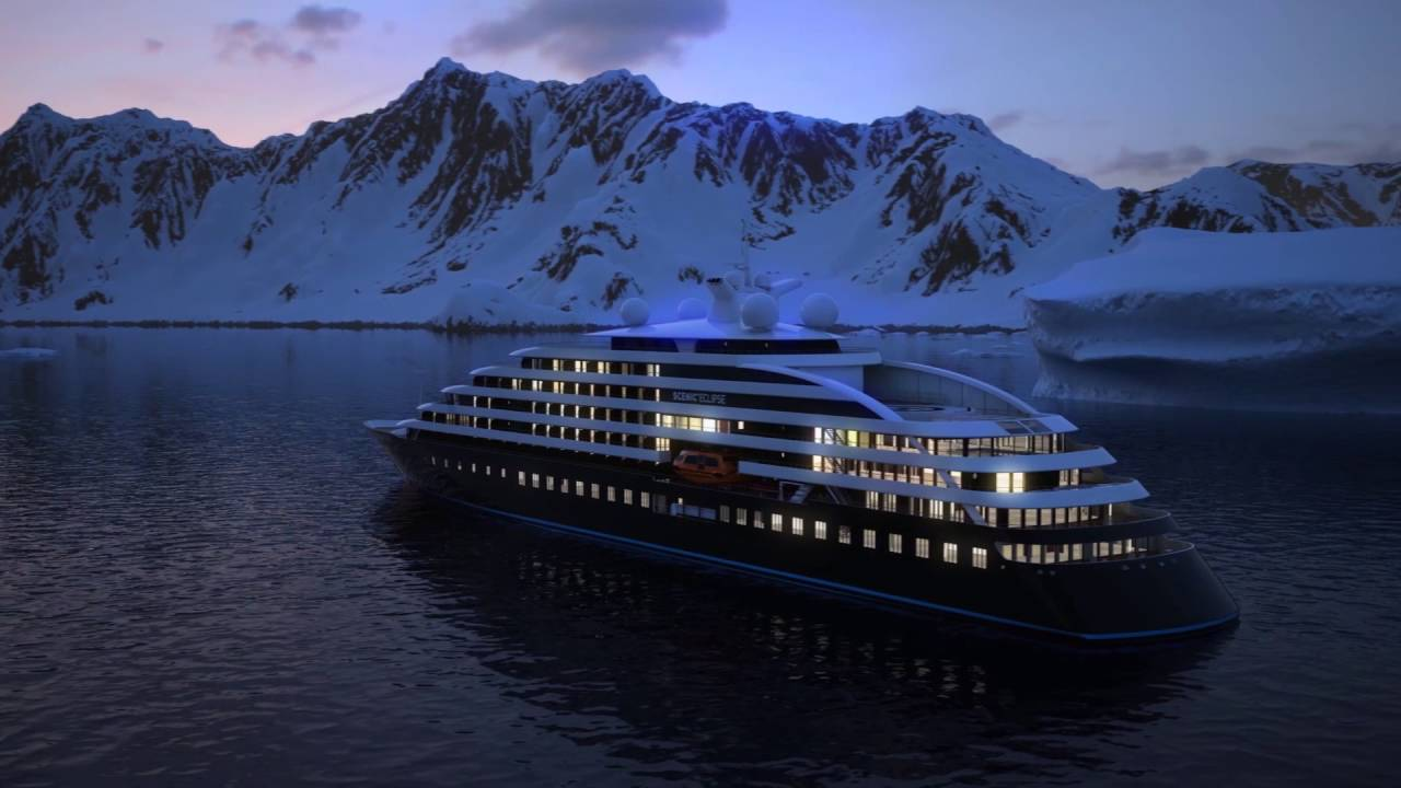Scenic Eclipse Discovery Yacht