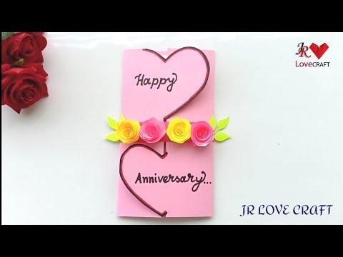 Beautiful Handmade Anniversary Card Idea / DIY Greeting  Cards For Anniversary