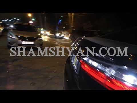 Խոշոր ավտովթար Երևանում.բախվել են Lexus-ը, տրանզիտ համարանիշներով Toyota-ն ու Lada-ն