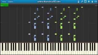Giuseppe Verdi - Il Trovatore - Anvil Chorus. Piano (Synthesia)