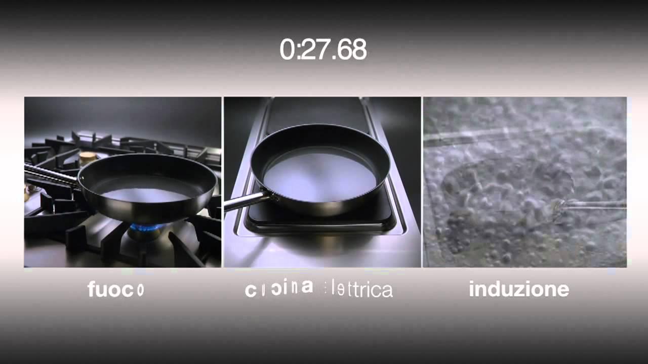 Piano Cottura Induzione O Gas prove di velocità - piani cottura a induzione, vetroceramica e tradizionale