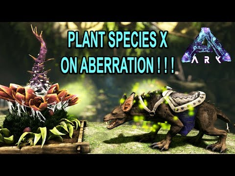 PLANT X on ABERRATION!!! WHERE TO FIND PLANT X SEEDS!!! Ark Survival Evolved Aberration DLC Gameplay