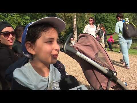 A Deauville (14) et au Parc de Clères (76), le secours populaire accompagne les enfants qui ne partent pas en vacances - - France 3 Normandie