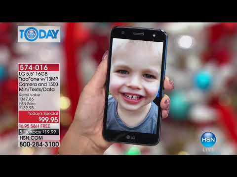 HSN | HSN Today: Electronic Gift Connection featuring LG 10.09.2017 - 08 AM