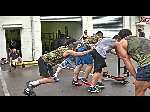 [OPEN GYM] Extremely Brutal Workout (in the rain)