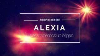 Alexia - Significado del Nombre Alexia