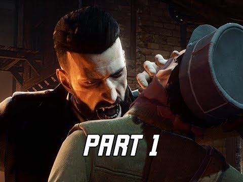 VAMPYR Walkthrough Gameplay Part 1 - First Hour!!! (4K Let's Play Commentary)
