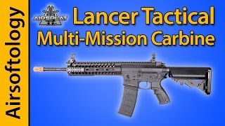 Lancer Tactical Multi Mission Carbine (MMC) Review | Airsoftology