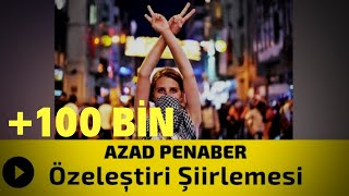 Azad Penaber - Özeleştiri Şiirlemesi / Çiyayen Me (İki Dil Bir Aşk)