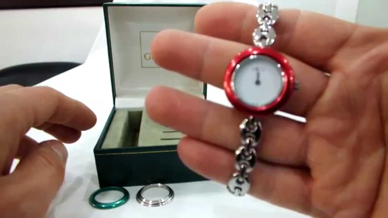 3a54a9a24d6 Gucci Watch 1200 - YouTube