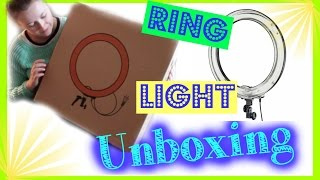 Affordable Ring Light Unboxing! | First Impressions Review + Setting Up For the First Time