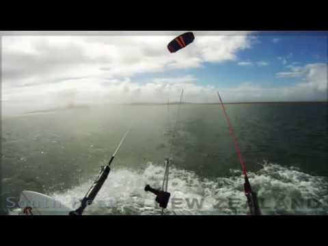 Kite surfing - South Head New Zealand - GoPro HD
