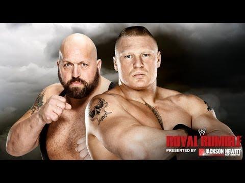 Royal Rumble 2014 : Brock Lesnar Big S Full Match