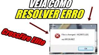 Veja Como RESOLVER  Erro W[2007] L[0] RF 159.REZ CrossFire ELITE