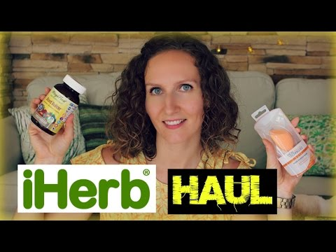 iHerb Haul (Organic Beauty, Skincare, Supplements): A Few Things I'm Super Excited About