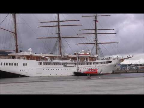Masted Sea Cloud 11 Exclusive Cruise Ship in Belfast