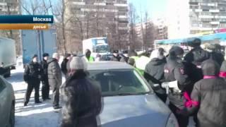Москвичи отметили день победы в войне с
