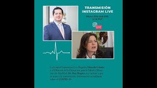 Conversación con el Dr. Ilan Shapiro-: 28 de abril, 2020