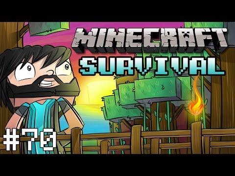 Minecraft : Survival - Part 70 - AFK Fish Farm