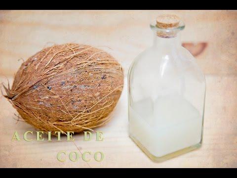 Cómo hacer Aceite de coco en casa..  Home made INSTANT COCONUT OIL