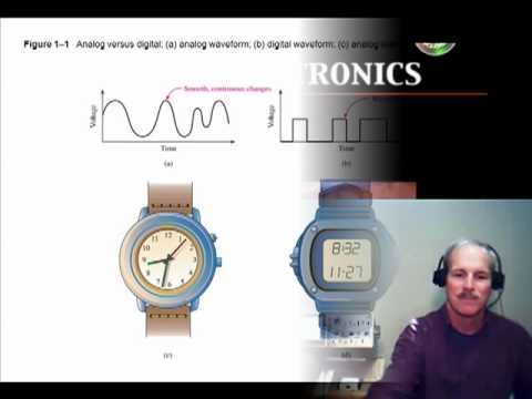 Digital Electronics: 1) Digital versus Analog signals